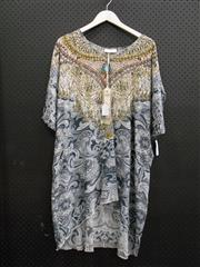 Sale 8451B - Lot 73 - Iona Silk Kaftan w Sleeves, XL