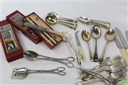 Sale 8603 - Lot 67 - Box of Cutlery