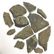 Sale 8758 - Lot 378 - Pyrite in Slate & Others