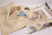 Sale 9027D - Lot 789 - A Good Collection Of Woodblock Prints, Bookplates Chinese Printa and Pictures