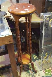 Sale 8326 - Lot 1669 - Timber Plant Stand