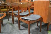 Sale 8338 - Lot 1036 - Set of Three Early Parker Dining Chairs