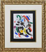 Sale 8349A - Lot 7 - Joan Miro (1893 - 1983) - VI 31.5 x 24.5cm