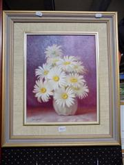 Sale 8437 - Lot 2032 - Clive Wilbow (1908 - 1976) - Daisies 37 x 29cm