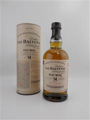 Sale 8514 - Lot 1709 - 1x 2002 The Balvenie Distillery 14YO Peat Week Single Malt Scotch Whisky - 48.3% ABV, 700ml in canister
