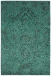 Sale 8651C - Lot 37 - Colorscope Collection; NZ Wool and Pure Silk - Dark Green Erased Classic Rug, Origin: China, Size: 160 x 230cm, RRP: $1899