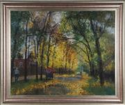 Sale 8845 - Lot 2026 - Russian School - Autumn Trees, 1998 78 x 98cm