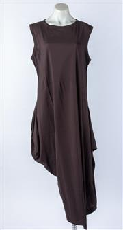 Sale 9003F - Lot 37 - A Digbys Brown Long Dress, size L