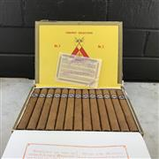 Sale 9042W - Lot 824 - Montecristo No. 3 Cuban Cigars - box of 25, stamped November 2017