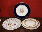 Sale 7962B - Lot 50 - Group of porcelain wall plates