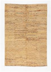 Sale 8780C - Lot 268 - An Afghan Chobi Naturally Dyed In Hand Spun Wool, Very Suitable To Australian Interiors, 237 x 161cm