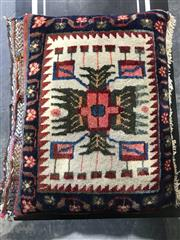 Sale 8956 - Lot 1088 - A turkish pillow (Approx. 50 x 43cm)