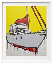 Sale 8068A - Lot 68 - Jasper Knight (1978 - ) - Pittwater Charter 100 x 82cm