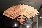 Sale 8162 - Lot 99 - Fan with Chinese Painting