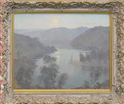 Sale 8259 - Lot 583 - James Ranalph Jackson (1882 - 1975) - Hawkesbury River 45.5 x 56.5cm