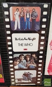 Sale 8421 - Lot 1027 - Vintage and Original The Who - The Kids Are Alright Promotional / Movie Poster (81cm x 34cm)