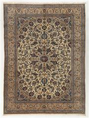Sale 8760C - Lot 11 - A Persian Nain Very Fine Wool And Silk Inlaid Pile, 400 x 294cm