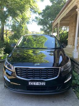 Sale 9150H - Lot 1 - 2019 Kia Carnival SLi people mover