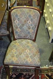 Sale 8093 - Lot 1427 - Set of 6 Dinning Chairs on Tapering Legs