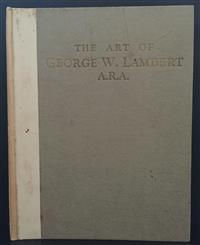 Sale 8176A - Lot 58 - Art of George W. Lambert A.R.A.   Art in Australia Sydney 1924. Limited edition 670 / 750 with stamp of Editor's compliments on fron..