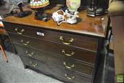 Sale 8368 - Lot 1064 - Mahogany 4 Drawer Chest
