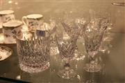 Sale 8346 - Lot 83 - Stuart Crystal Set of 4 Whisky Tumblers with Other Stem Wares