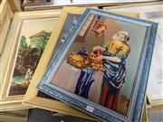 Sale 8437 - Lot 2092 - Collection of Framed Tapestries
