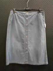 Sale 8451B - Lot 77 - Gerry Webber Blue Denim Skirt, UK18 68L