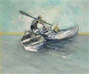 Sale 8558 - Lot 554 - Hugh Sawrey (1919 - 1999) - On the Ocean, 1962 43.5 x 51cm