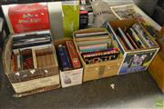 Sale 8563T - Lot 2333 - 4 Boxes of Various Books incl. Criminal Laws; Crafti, S. Designing for Success the Office; Golden Hands Patchwork & Applique; etc