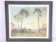 Sale 8607R - Lot 46 - Hanke - Oil on Board (49 x 60cm)