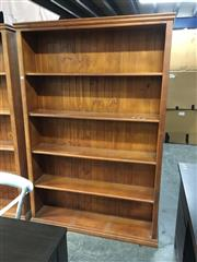 Sale 8782 - Lot 1374 - Timber Open Bookcase