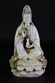 Sale 8980S - Lot 626 - Composite figure of Guanyin (H26.5cm)