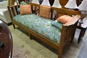 Sale 8156 - Lot 1073 - Timber Framed Couch