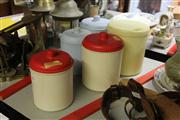 Sale 8169 - Lot 2283 - Vintage Kitchen Canisters