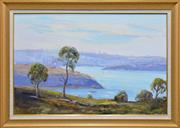 Sale 8257A - Lot 37 - James Radford (1938 - ) - Sydney Harbour View 59 x 89cm