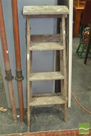 Sale 8331 - Lot 1082 - 1940s Painters stepladder