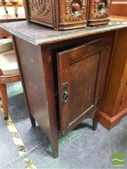 Sale 8495F - Lot 1063 - Timber Pot Cupboard