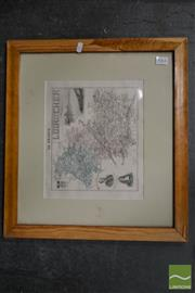 Sale 8503 - Lot 2064 - Antique French Map