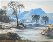 Sale 8558 - Lot 507 - Leon William Hanson (1918 - 2011) - Glen Alice, Capertee Valley 59 x 74cm