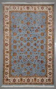 Sale 8545C - Lot 21 - Indian jaipur Silk & Wool 200cm x 299cm