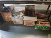 Sale 8548 - Lot 2229 - Three boxes of sundries, incl books, candles, cups
