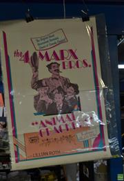 Sale 8582 - Lot 2095 - The 4 Marx Bros. - Animal Crackers, printed by Universal Pictures, 1974, ed. 74/290 (unframed)