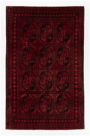 Sale 8780C - Lot 271 - An Afghan Kondoosi 100% Wool On Cotton Foundation And Natural Dyes, 240 x 150cm