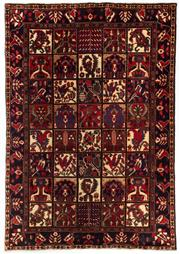 Sale 8800C - Lot 33 - A Persian Bakhtiyari And Classic Garden Design, 100% Wool On Cotton, Classed As Prerevolution Weave, 296 x 205cm