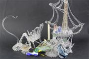 Sale 8815 - Lot 90 - A Collection of Cut Crystal Ornaments