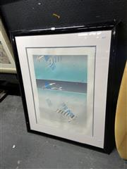 Sale 8903 - Lot 2101 - Catherine OConnor, limited edition print, 101 x 83 cm (frame), signed lower right
