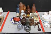 Sale 8139 - Lot 2370 - Collection of Earthwares Pottery and silver Plated Wares and Other Misc