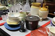 Sale 8169 - Lot 2289 - Florenz Signed Canister with Other Australian Wares incl Fowler