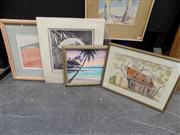 Sale 8429A - Lot 2020 - Collection of Various Artworks including Watercolours and Prints